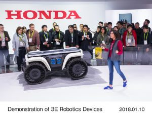 Honda robotics at CES 2018