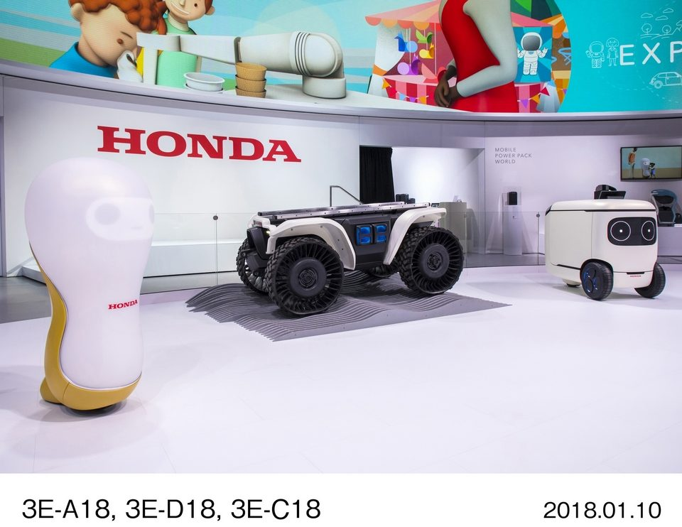 Honda robotics at CES 2018